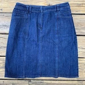 Jones New York   Blue jean denim straight skirt 4P